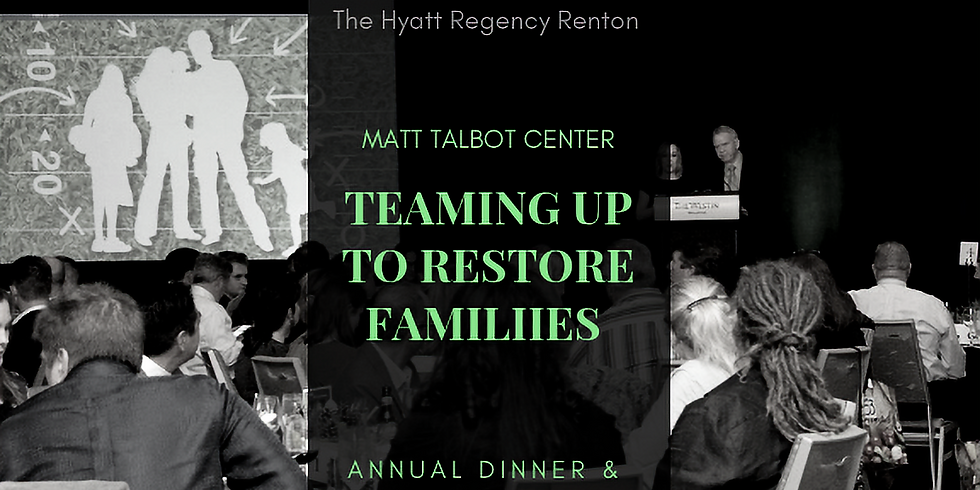Annual Dinner & Auction: Teaming Up to Restore Families