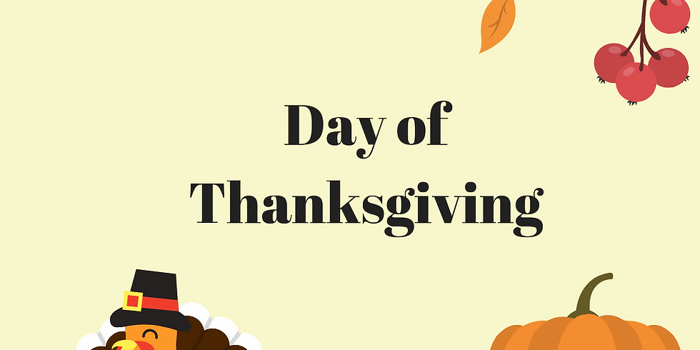 Day of Thanksgiving