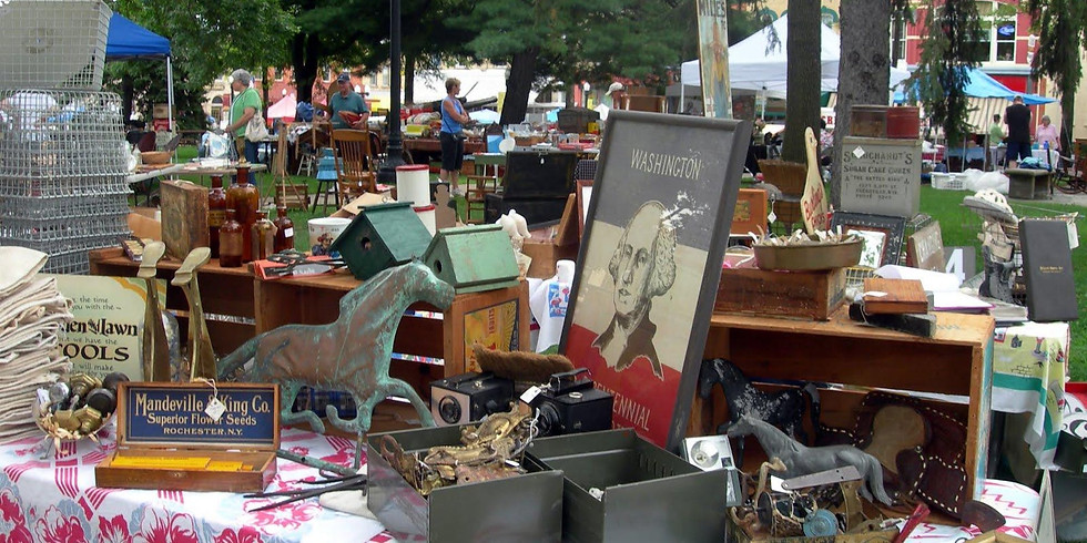 Savage Finds Spring Flea Market at the Silos