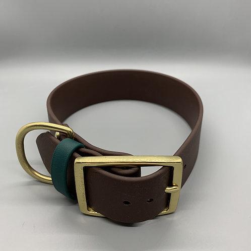 Brown Harbor Hound Biothane Collar