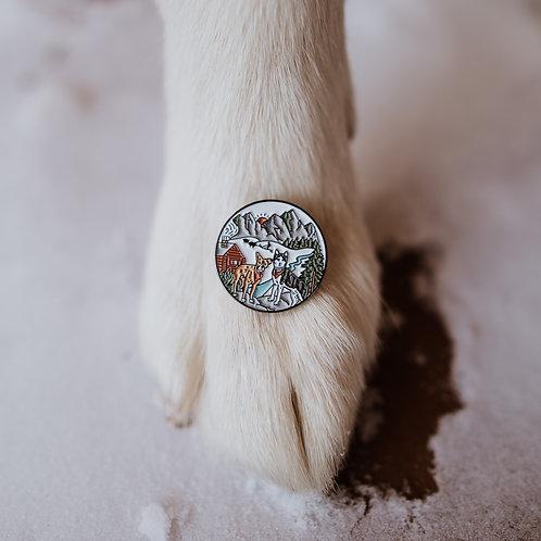 Tucker & Leo Adventure Enamel Pin