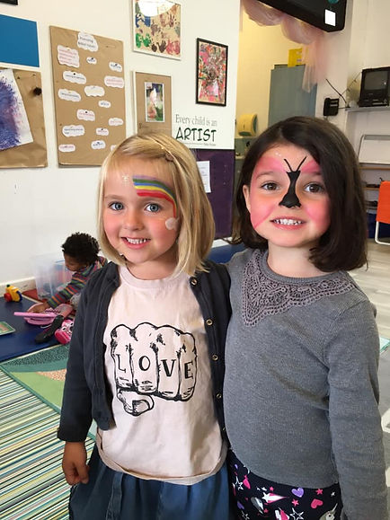 Making Friends at Amberly Hall Day Nursery in Clifton