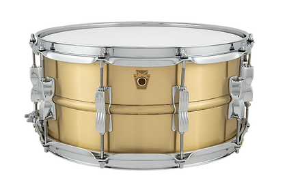 Ludwig Acro Brass 6.5x14 Snare Drum_LB65