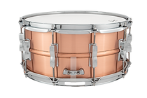 Ludwig Acro Copper 6.5x14 Snare Drum_LC6
