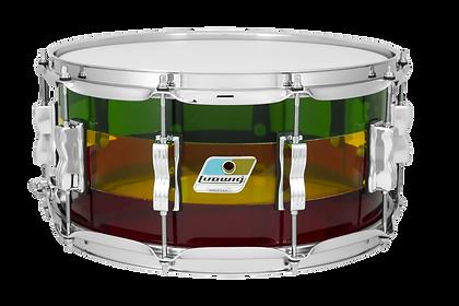 Ludwig Vistalite 6.5x14 Snare Drum Islan