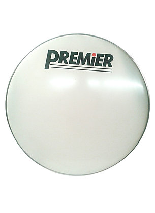 "Premier 32"" Smooth White Bass Drum Head"
