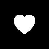 Heart thumbprint logo.