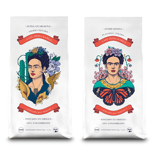 Pack Café Frida Kahlo –  Luisa Guaragna + Astrid Medina (2x 350 gr)
