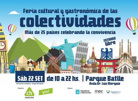 Feria Cultural y gastronómica de las colectividades ☕