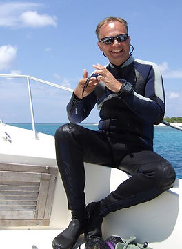 Tim Ecott, author and diver