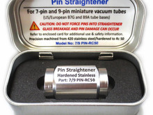 Clarify Issues Brought up by Negative Reviewers on Riverstone Audio Vacuum Tube Pin Straightener