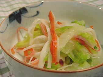 かにかまと白菜の酢のもの.png