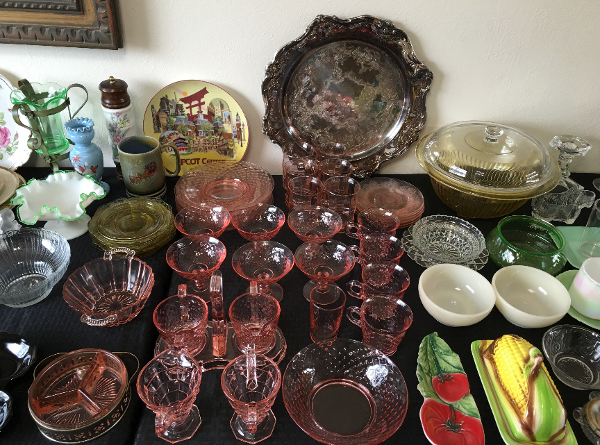 Estate Sale Colorado Springs Depression Glassware