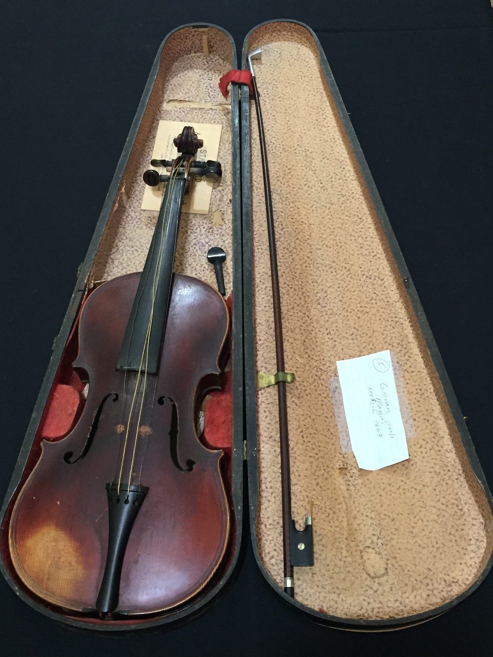 Estate Sale Violin Instrument Collection