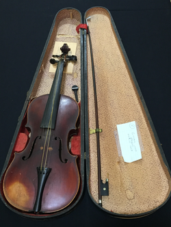 Estate Sale Violin Instrument Collection