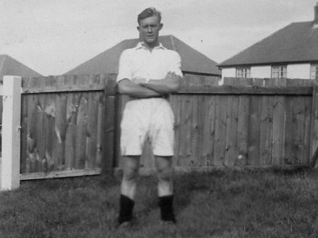 CLUB LEGEND: Roy Mitchener