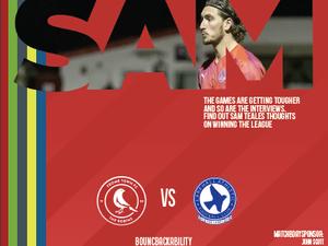 Programme: Frome vs Larkhall