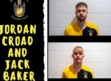 More players commit to MTFC- Jordan Croad and Jack Baker
