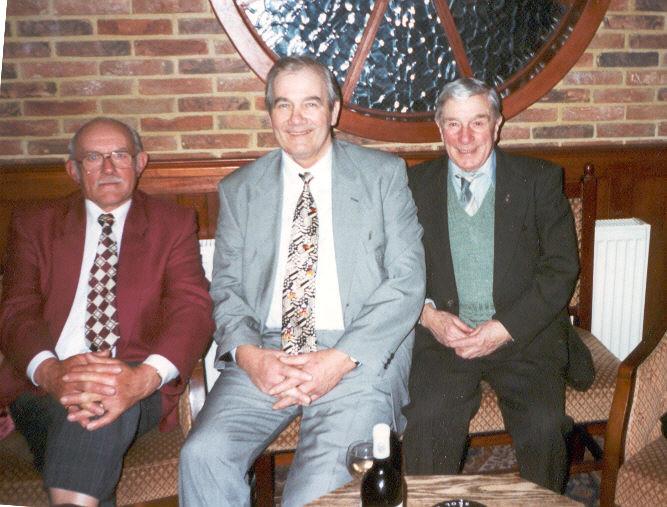 Roy Mitchener, Irvin Brown & Stan Wallis