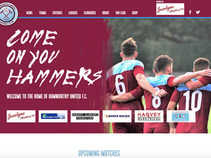 Creating a new online presence for Hamworthy United