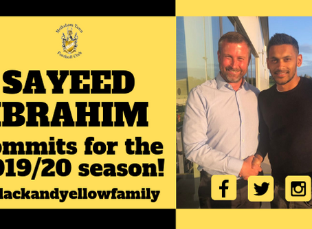 Sayeed Ibrahim commits to MTFC