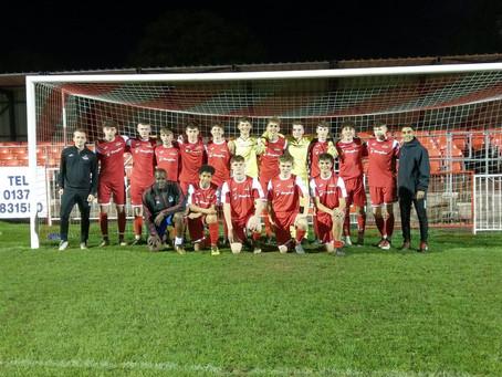Frome Town U18  4 – 4  Wellington U18