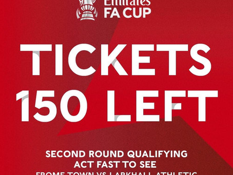 FA Cup: 150 tickets remaining