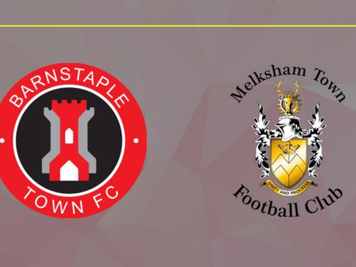 Match Report: Barnstaple Town V Melksham Town