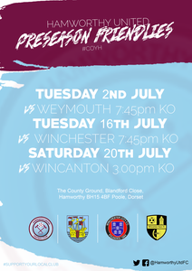 Preseason Friendlies Hamworthy