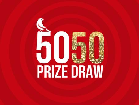 NEW #BA11 50/50 Prize Draw