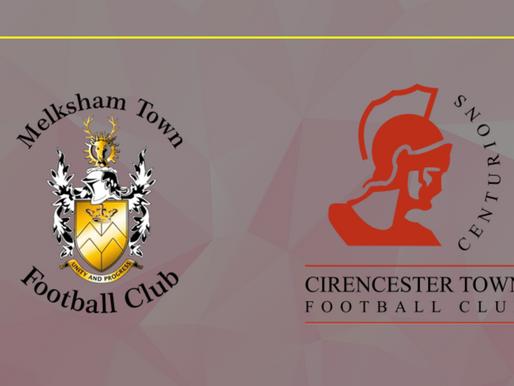 Match Report- Melksham Town V Cirencester Town