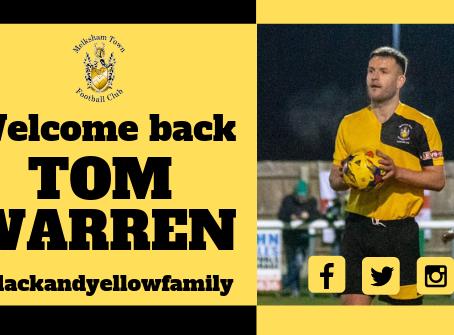 Welcome back Tom Warren!