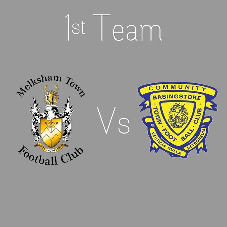 (H) Melksham Town V Basingstoke Town