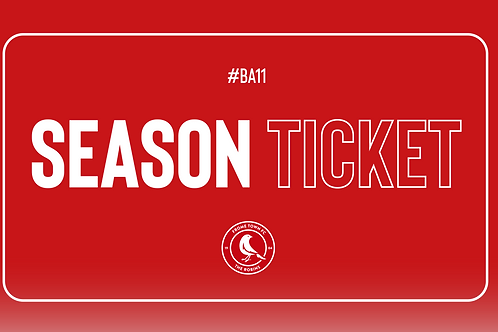 20/21 Season Ticket