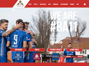 Creating a new online presence for Frome Town.