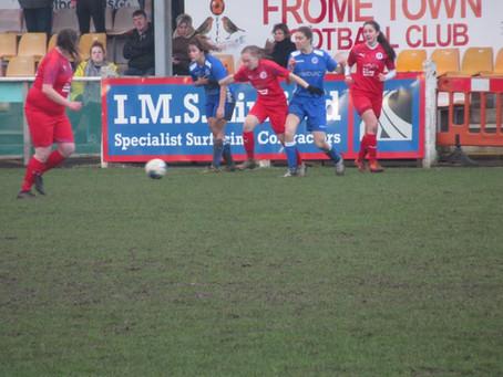 WOMENS: Frome 6-0 Swindon Supermarine