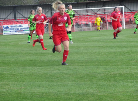 WOMENS: Frome Town 2 - 1 FOREST GREEN