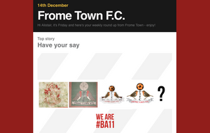 Frome Town FC Logo history