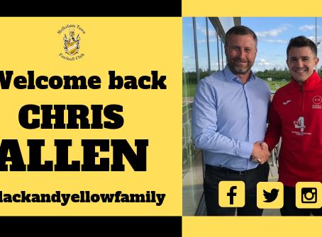 Welcome back Chris Allen!