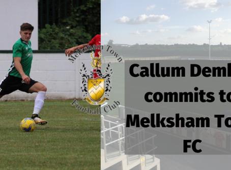 Callum Demkiv commits to Melksham Town FC