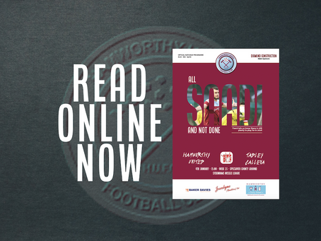 READ: Catch up on Saturday's matchday programme (online)