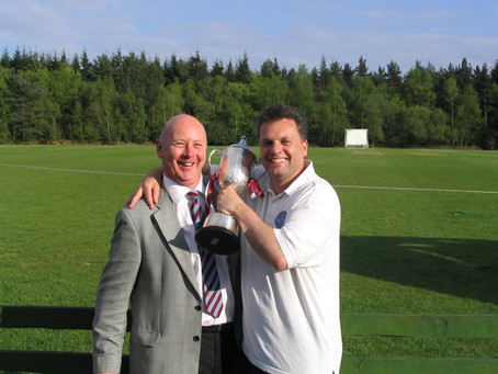CLUB LEGEND: Bruce Scammell