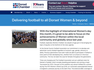 International Women's day highlights the DCFA's success