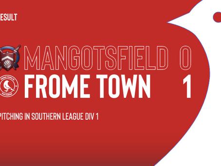 Match Report: Mangotsfield 0-1 Frome Town