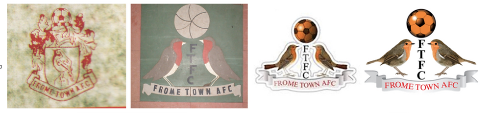 Logo History Frome Town F.C.