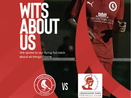 PROGRAMME: Frome Town v Cirencester