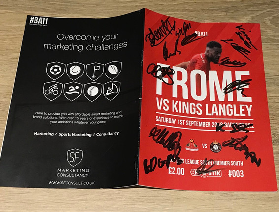 Programme redesign