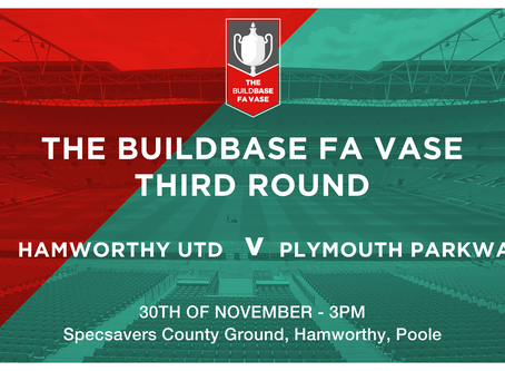 FA VAse Round 3: Draw made today