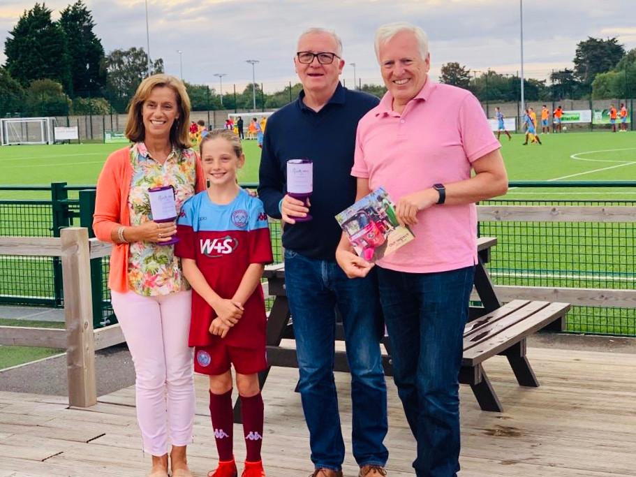 Hamworthy United and Rosie May Charity