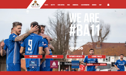 Frome Town F.C. Website Build